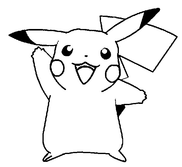 Pokemon Pikachu Coloring Pages Printable