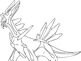 Legendary Pokemon Coloring Pages Online