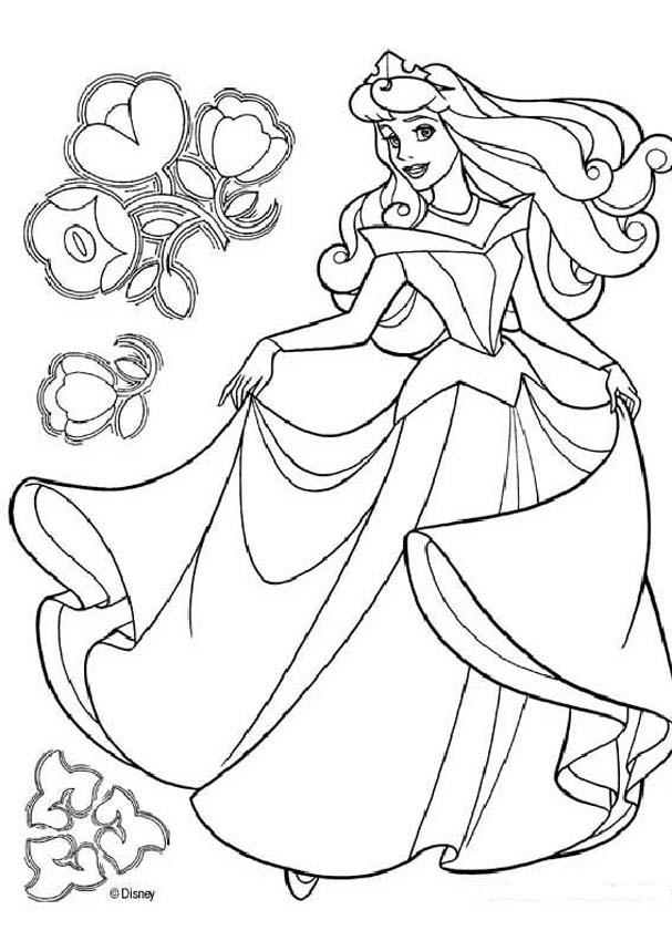 coloring pages disney princess belle - photo#20