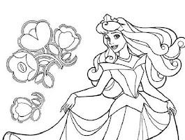 Free Printable Disney Coloring Pages Princess