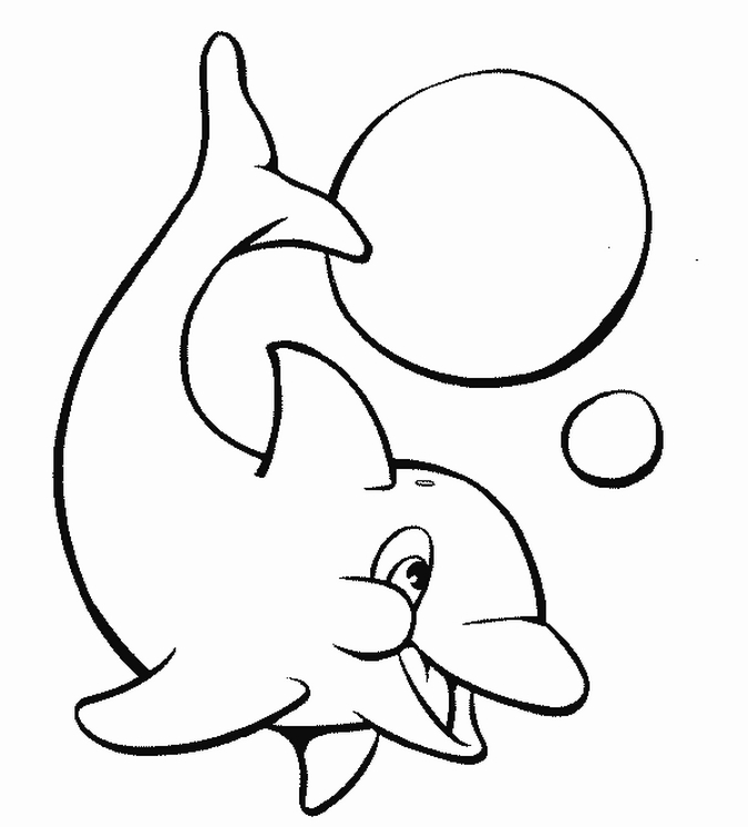 Printable Dolphins Animal Coloring Pages Free Printable Coloring Pages Animals