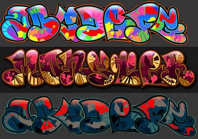Foto graffiti alphabet funny bubble font r bild 1323915 deto forum