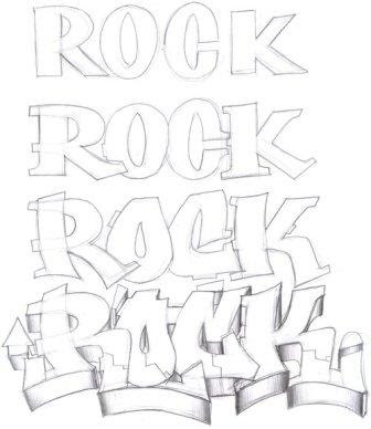 How to draw Bubble Letters Step By Step -Graffiti Art Lessons ...