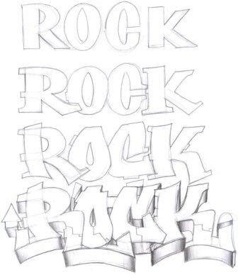 graffiti letters 3d. Graffiti Buble Fonts Letters