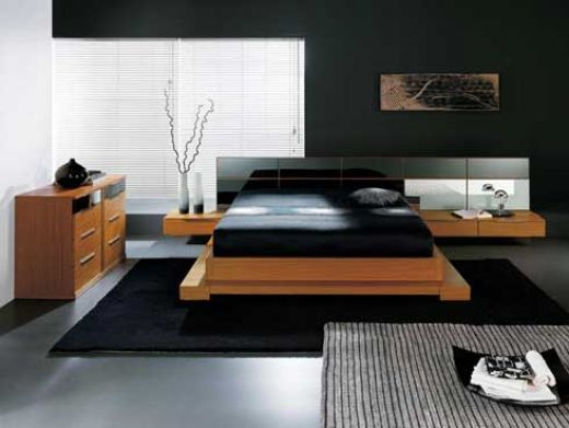 Home furniture ideas modern and minimalist interior for Modern minimalist bed