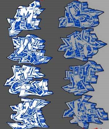 Graffiti wildstyle alphabet letters blue color by graffiti alphabet graffiti wildstyle alphabet letters blue color thecheapjerseys Image collections