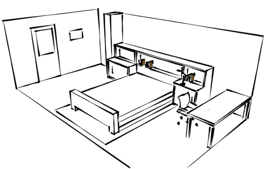 Bedroom Sketches