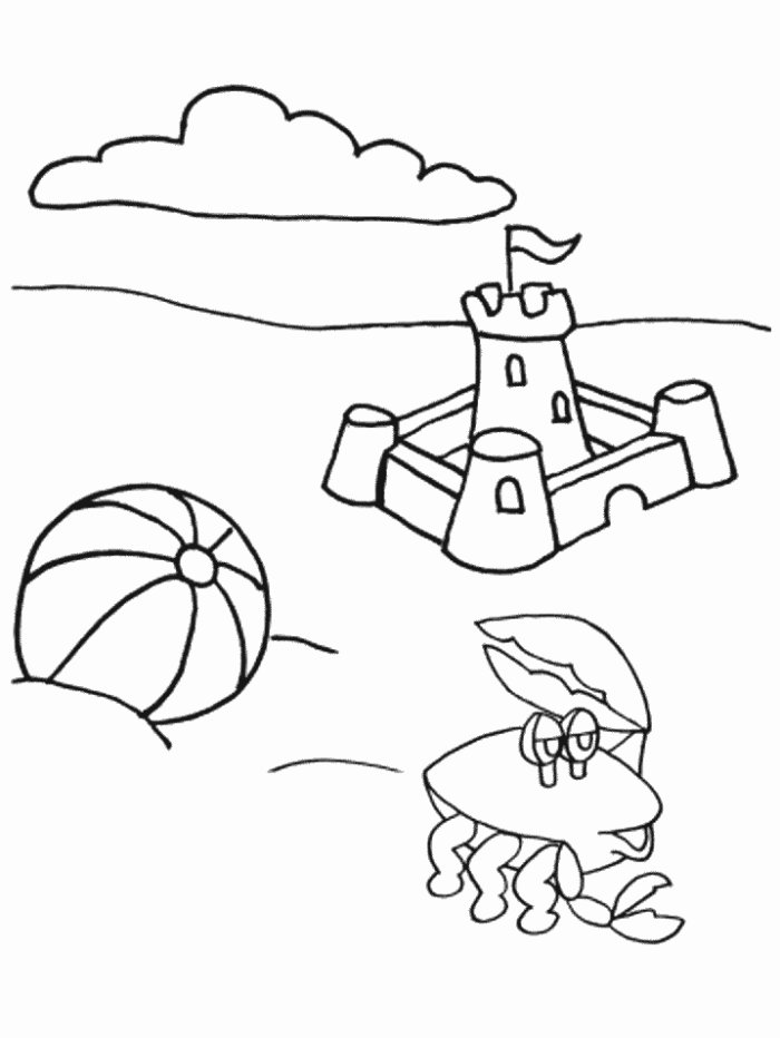 Summer Holiday Coloring Pages Free Printable Summer Coloring Pages