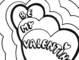 Preschool Valentine's Day Coloring Pages