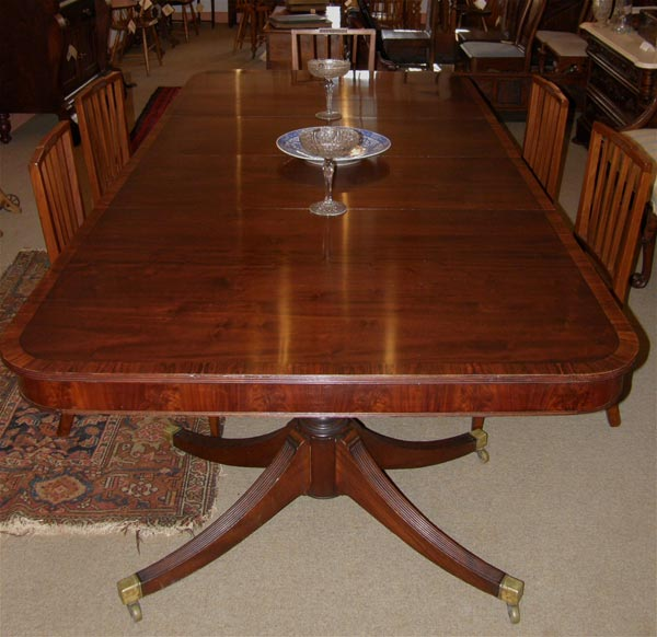 Dining room ideas dining room table for Antique dining room tables