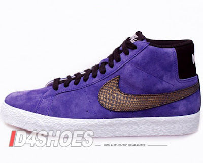 Nike Blazer Vintage Suede Violet Low Premium