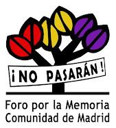 Foro por la Memoria de la Comunidad de Madrid