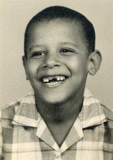 Child Barack Obama Barack Obama swinging a