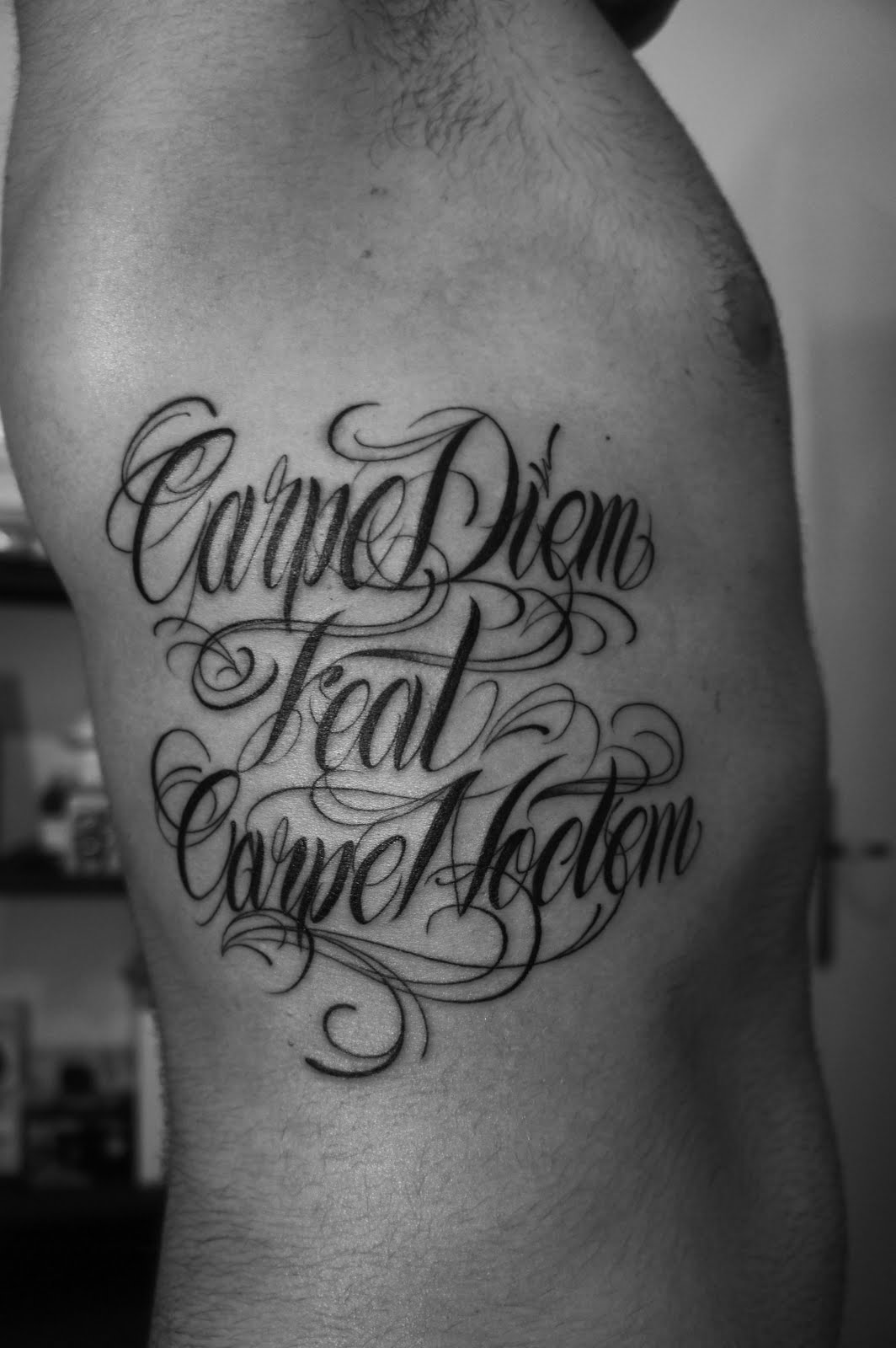 Tattoo Fran Carpe Diem Feat