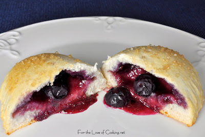 Raspberry and Blueberry Fruit Pies