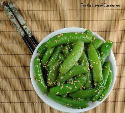 Asian Sugar Snap Peas