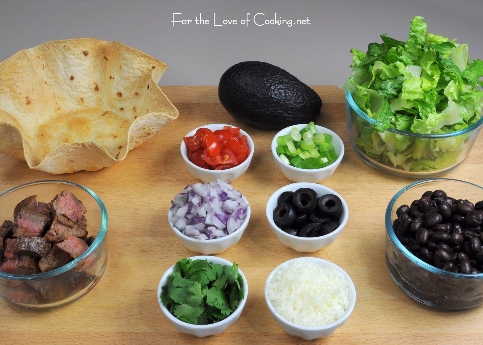 Mini Shredded Beef Taco Salads In Crispy Corn Tortilla Cups Recipes ...