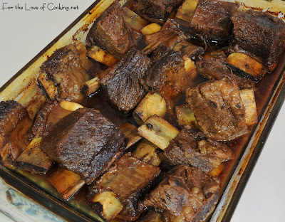 Asian Inspired Braised Beef Short Ribs