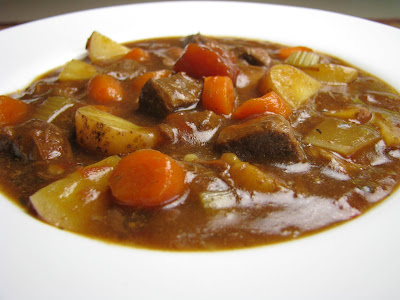 Beef stew is total comfort