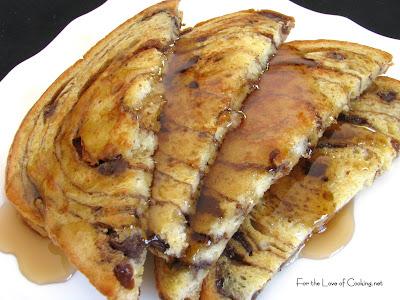 Cinnamon Raisin Bread French Toast