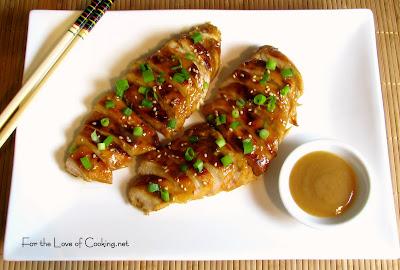 Honey - Ginger Chicken Breasts