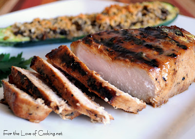 Honey Mustard Thick Cut Pork Chops