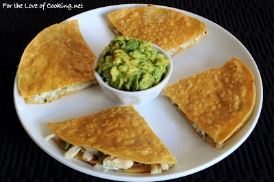 Crab Quesadilla with Homemade Guacamole