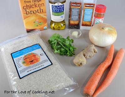 Carrot-Ginger Rice