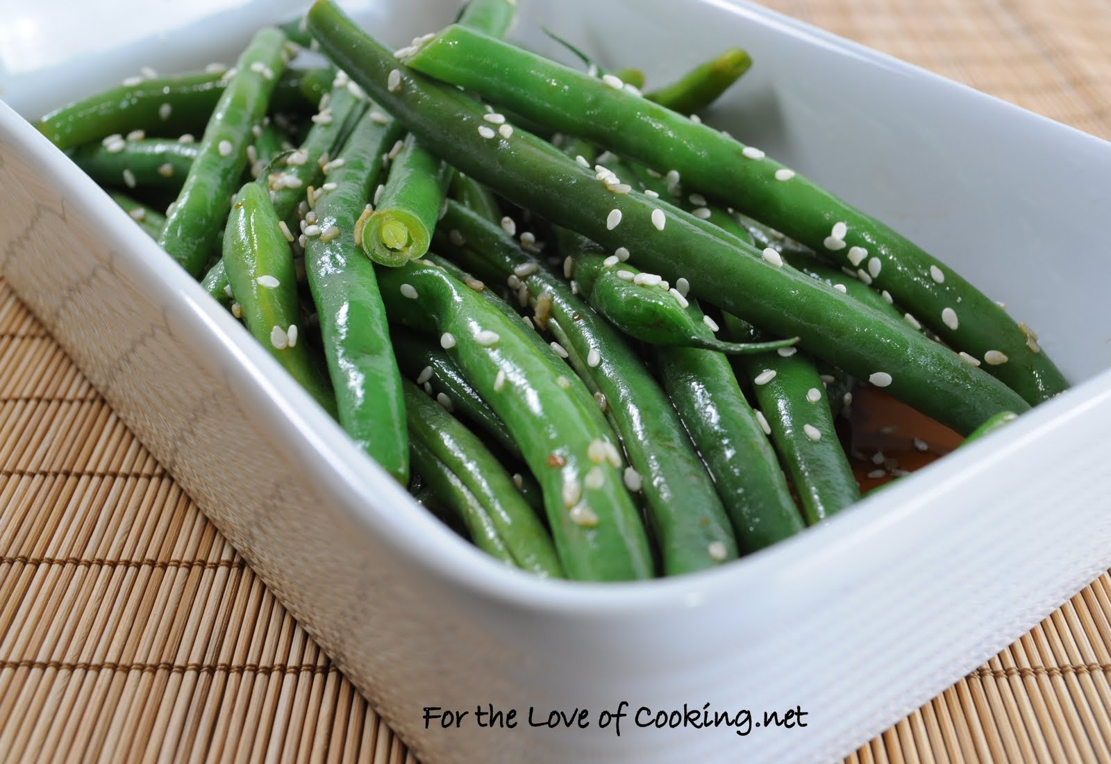 ginger green beans recipes dishmaps sesame garlic ginger green beans ...