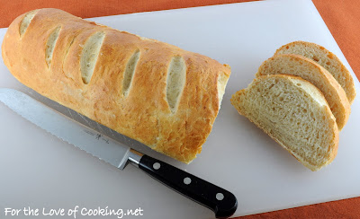 Roasted Garlic French Bread