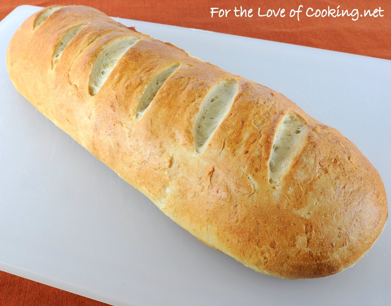 Roasted Garlic French Bread | For the Love of Cooking