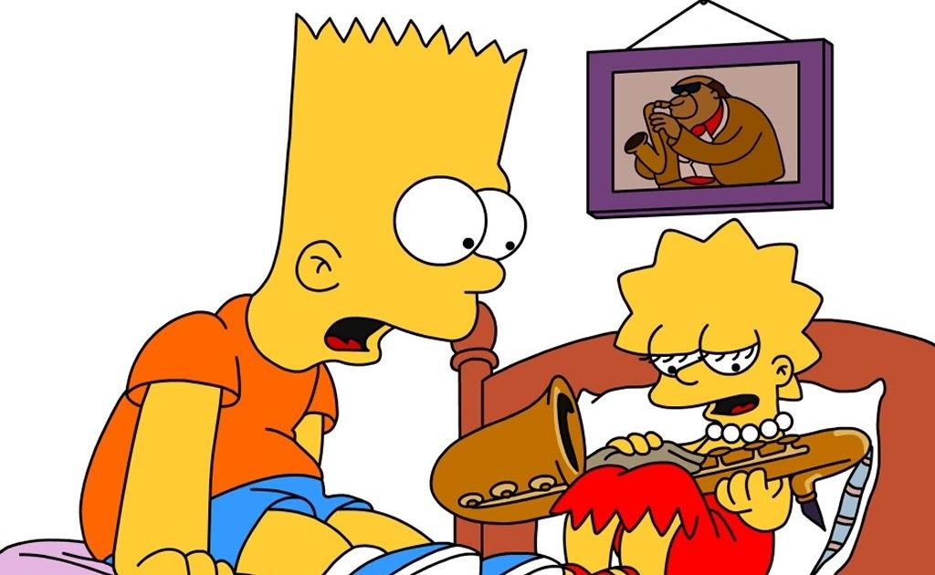 Simpsons wallpaper bart and lisa wallpapers 1024x766 - Bart simpson nu ...