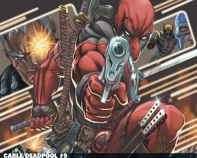 Cable/Deadpool #9 1280x1024