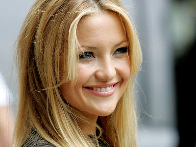 Kate Hudson's pretty smile