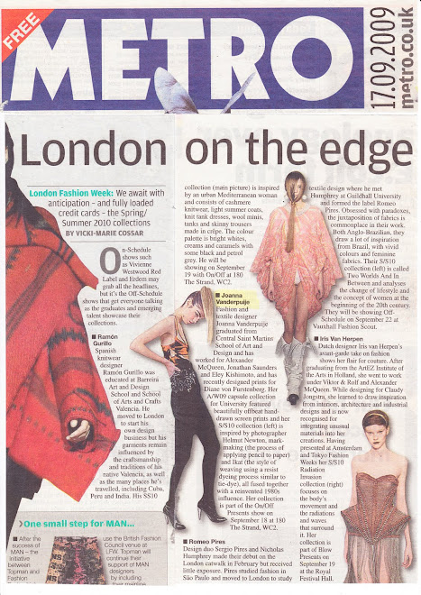 METRO Feature Sept 09