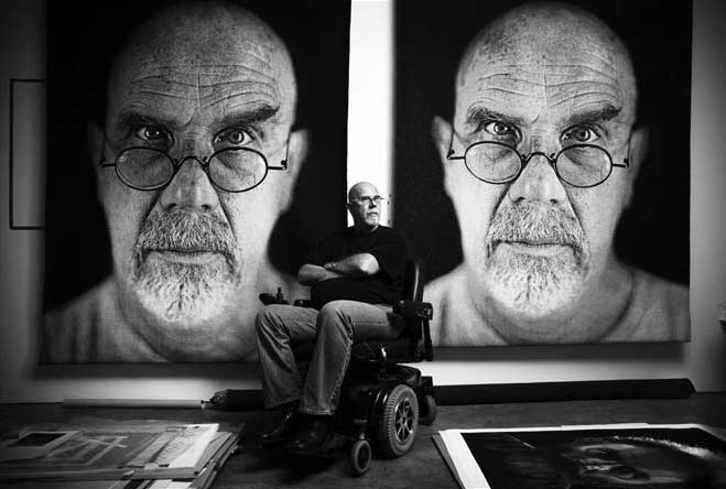 how to paint like chuck close