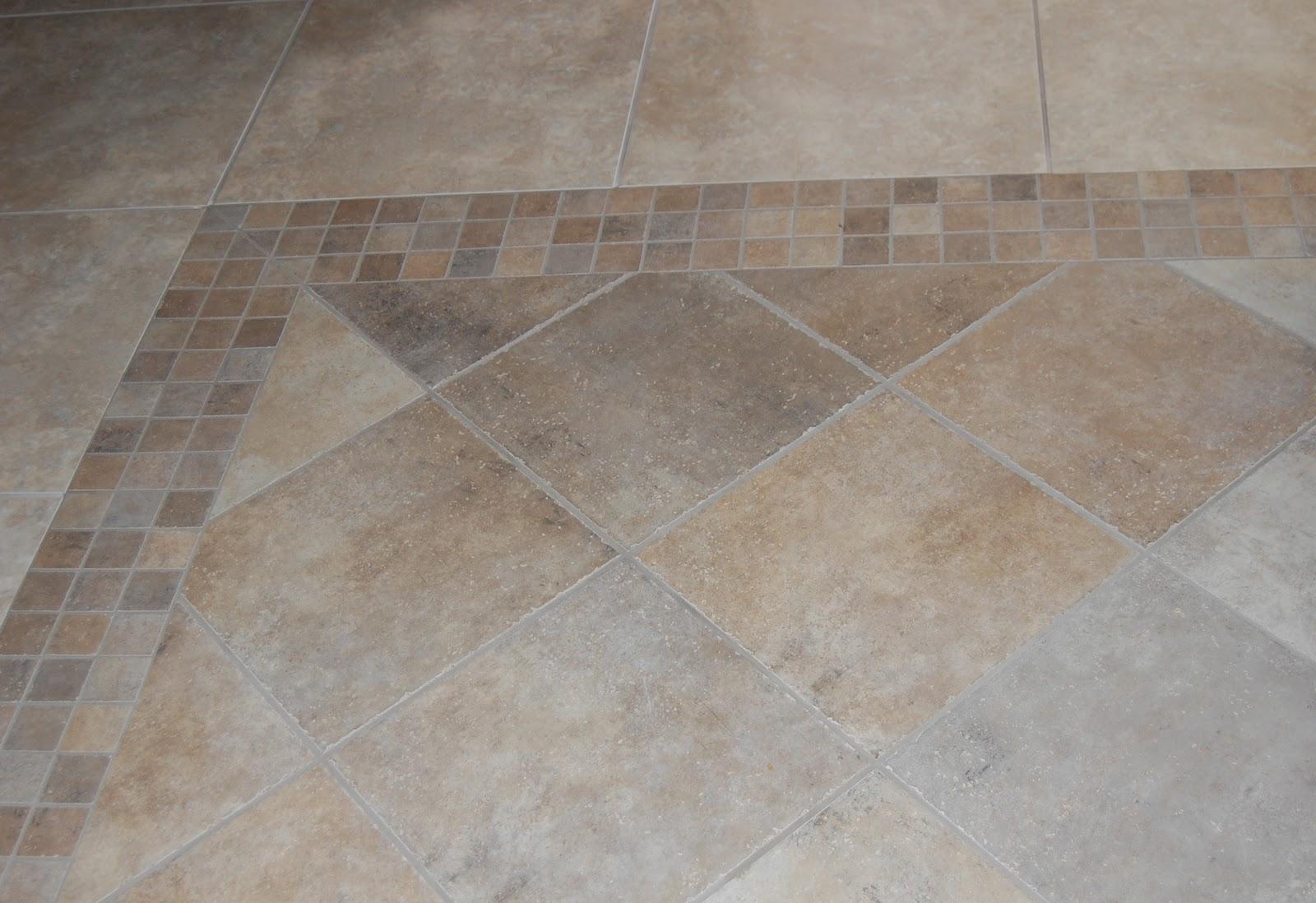 Diagonal Tile Installation