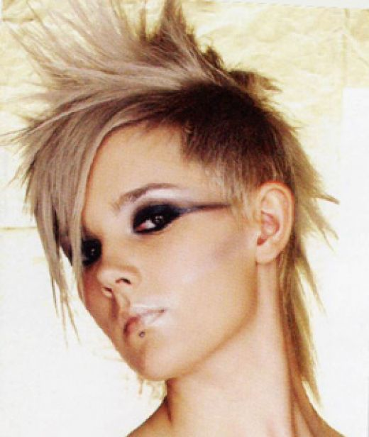 punk rock hairstyle pictures. cool funky punk hairstyle hair styles punk hair styles