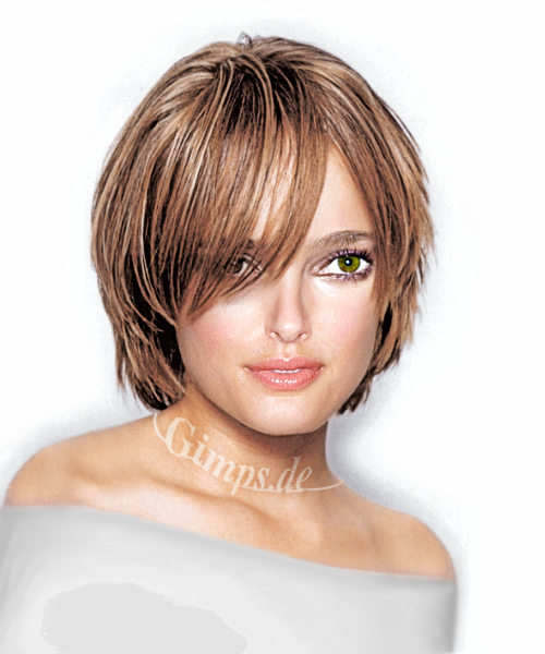 short haircuts for thick hair 2011