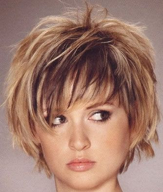 Short Hairstyle For Chubby Face. Short hair styles,Short