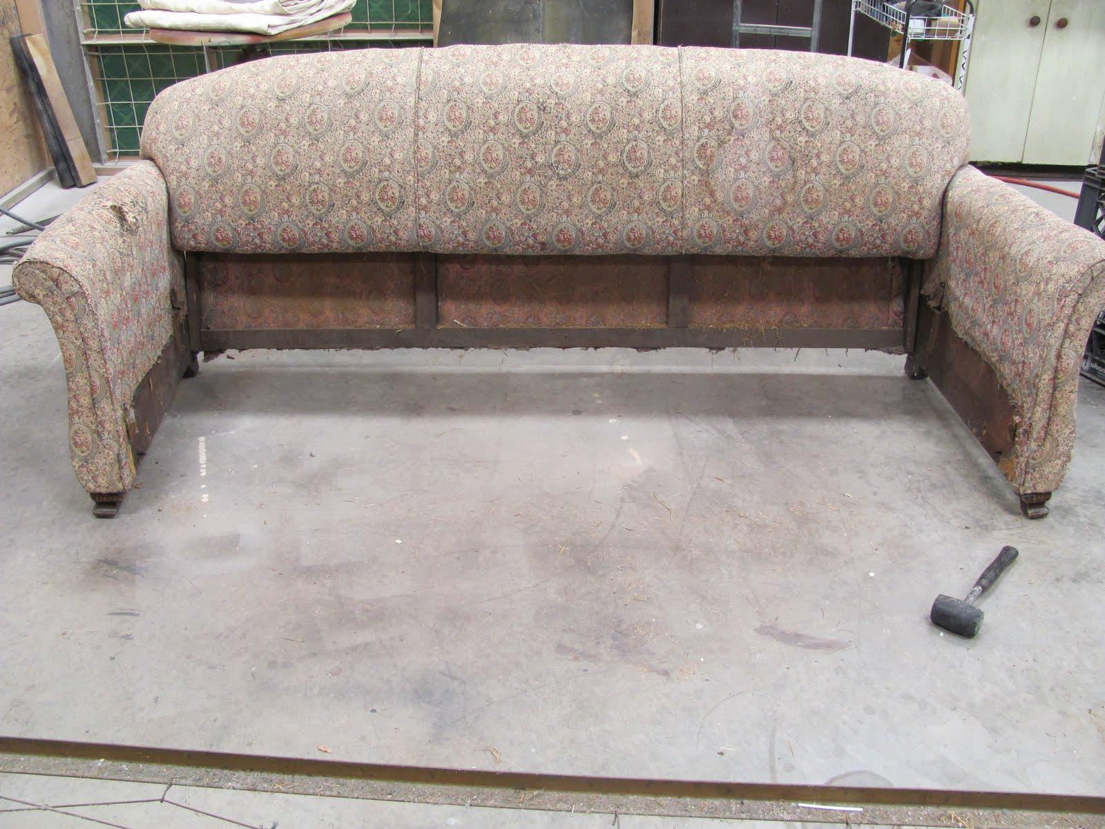 Thomas Nelson Furniture Restoration: Antique Sleeper Sofa Frame Repair