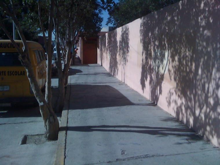 LIMPIEZA AFUERA DE NUESTRA ESCUELA