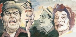 Ο ΚΛΕΑΡΧΟΣ, Η ΜΑΡΙΝΑ ΚΑΙ Ο ΚΟΝΤΟΣ 1961
