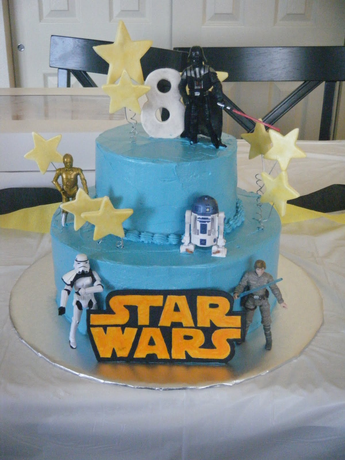 how to make a star wars birthday cake