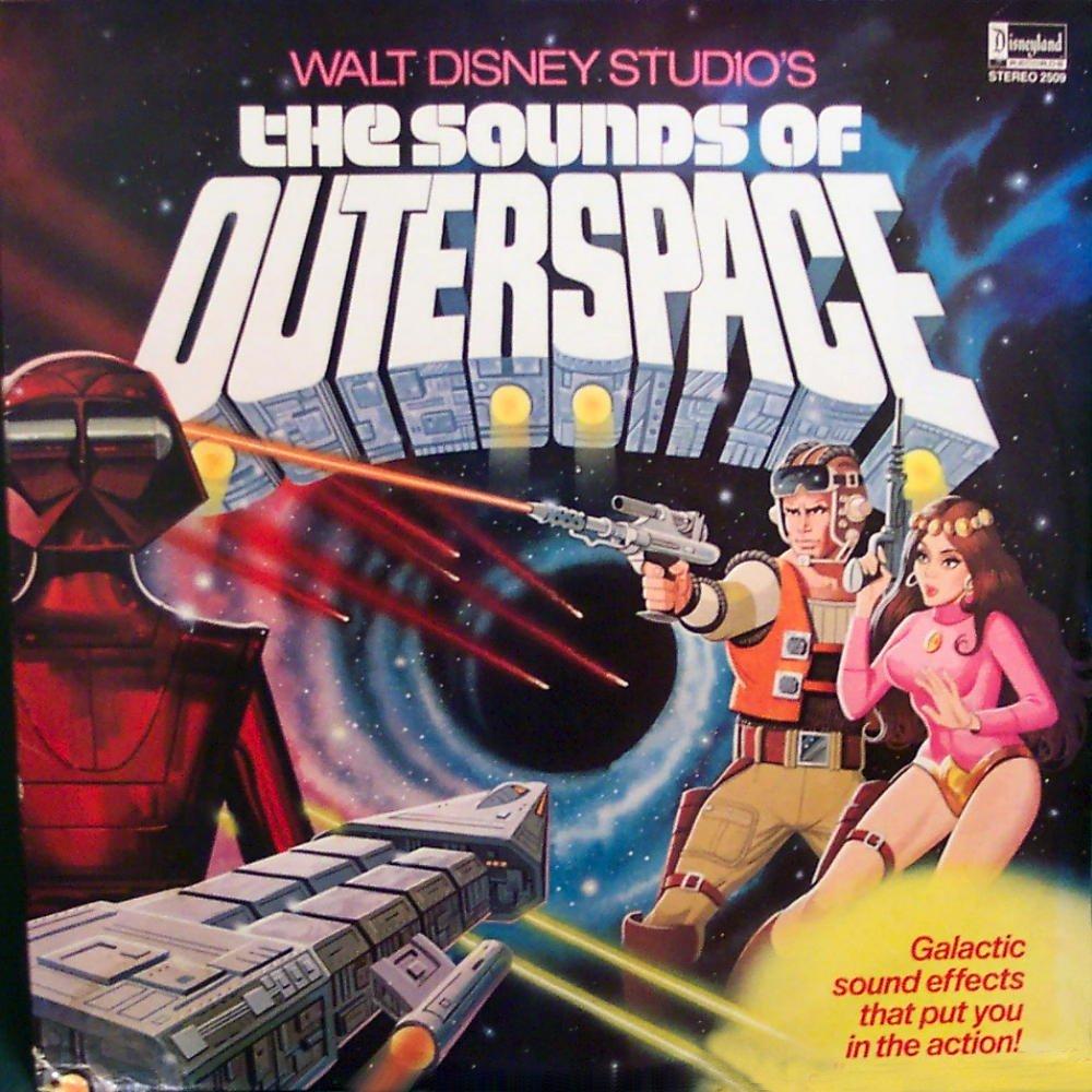Space1970 the sounds of outerspace 1979 record album for Outer space studios