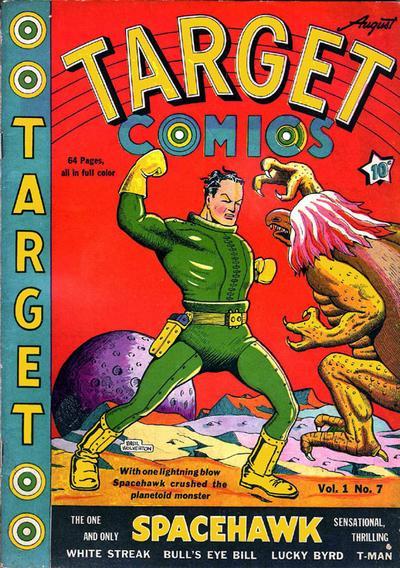 Fantagraphics udgiver den komplette Spacehawk af Basil Wolverton