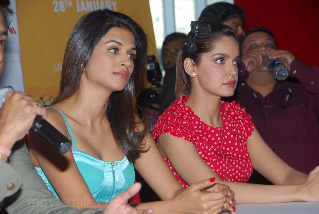 Dil Toh Baccha Hai Ji Press Meet at Cinemax Hyderabad