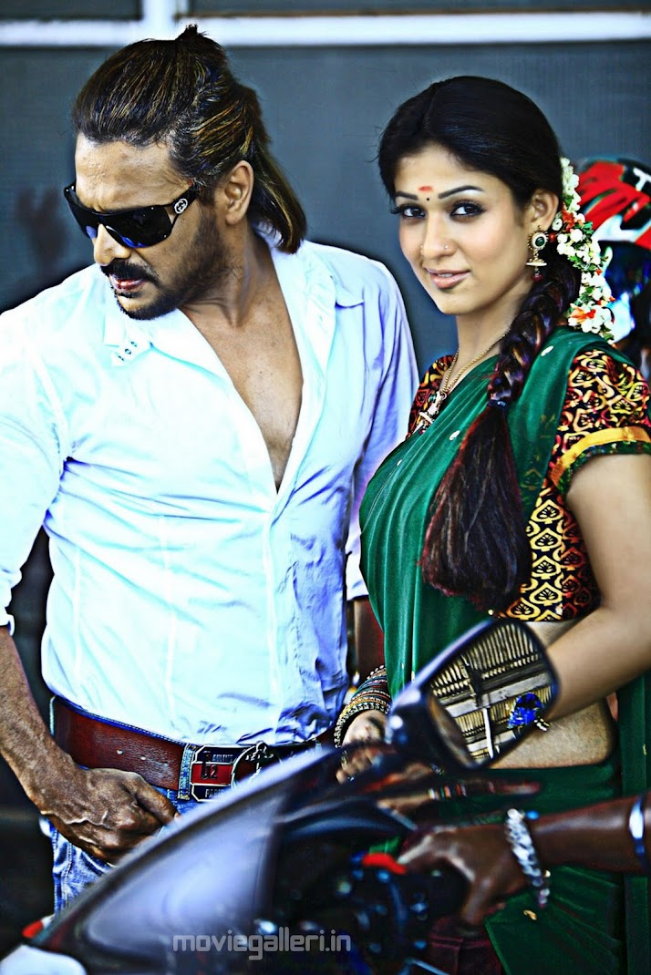 Dusky Nayanthara, Upendra at Super Movie Stills
