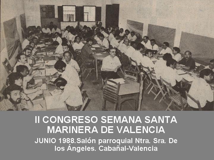 II CONGRESO SEMANA SANTA MARINERA