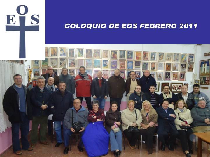 COLOQUIO DE EOS PRIMERO DE 2011
